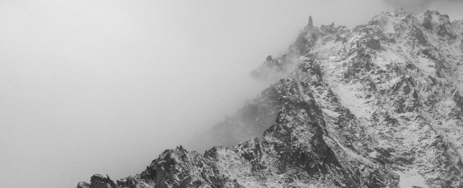 Crête région d'Orny, depuis la cabane d'Orny, Valais, Suisse.