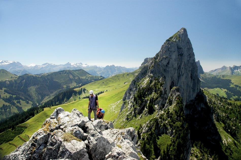 Arête des Gastlosen, Fribourg, Suisse.