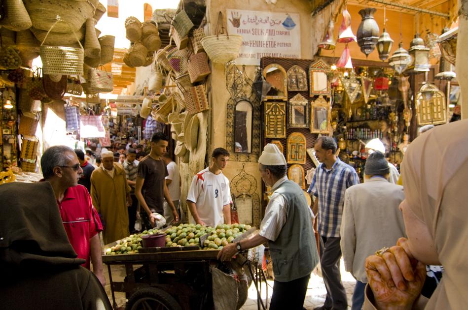 Medina Fes, Maroc