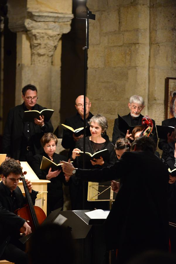 """Concert """"Les Vocalistes Romands"""", Abbatiale de Romainmôtier, Suisse."""