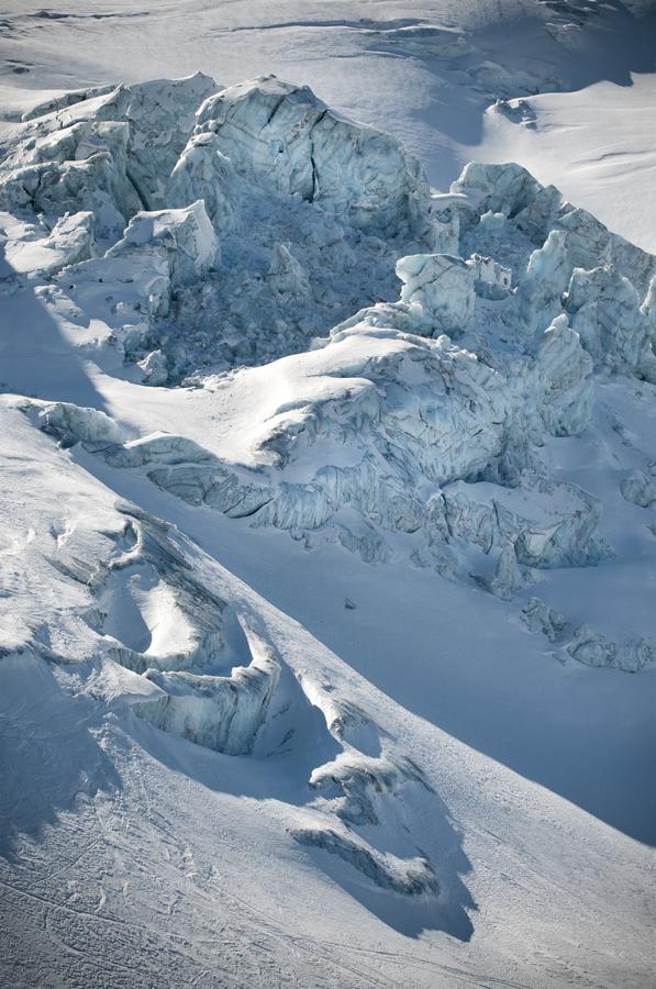 Glacier du Trient, Valais, Suisse.