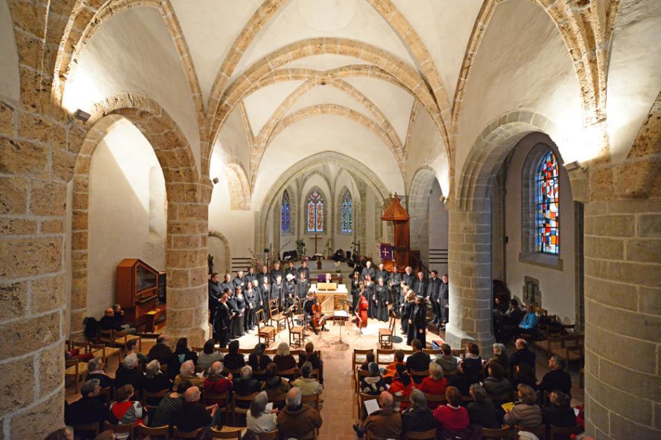 Concert Eglise Saint-Vincent, Montreux, Suisse, 2013