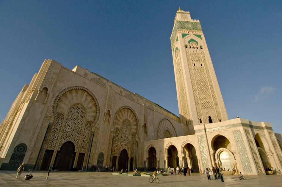 Mosquée Hasan II, Casablanca, Maroc