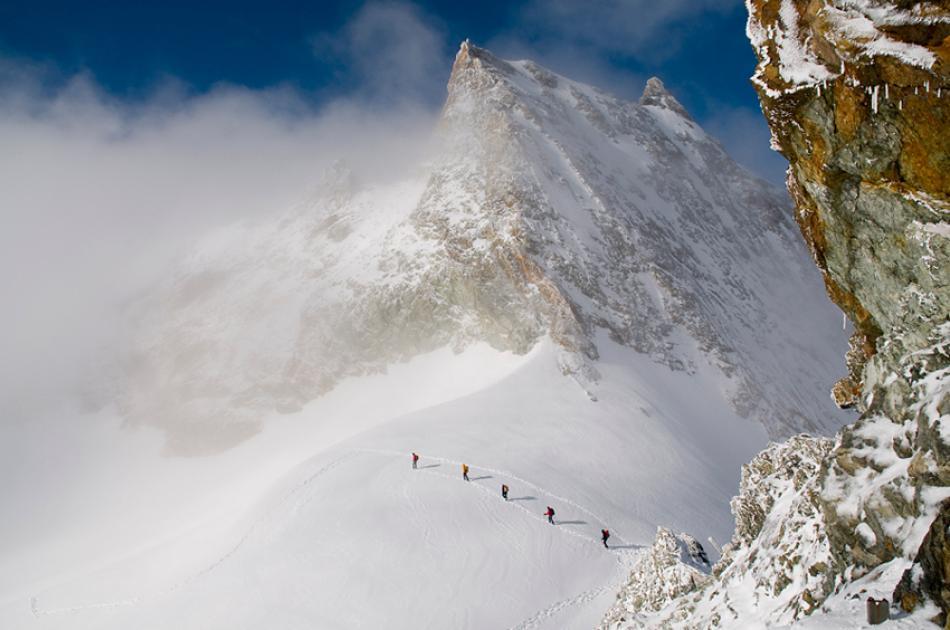 Col de Bertol, Valais, Suisse.