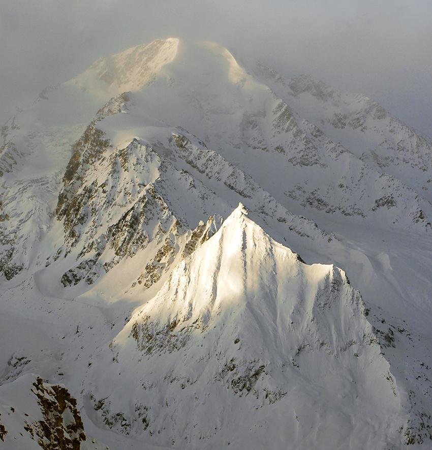 Petit Combin, Valais, Suisse.