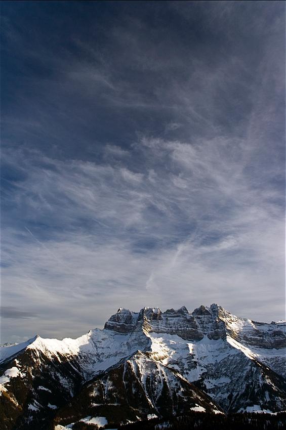 Dents du Midi, Valais, Suisse.