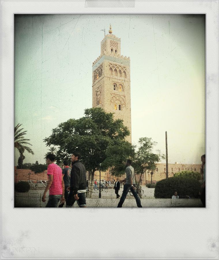 Koutoubia, Marrakech, Maroc