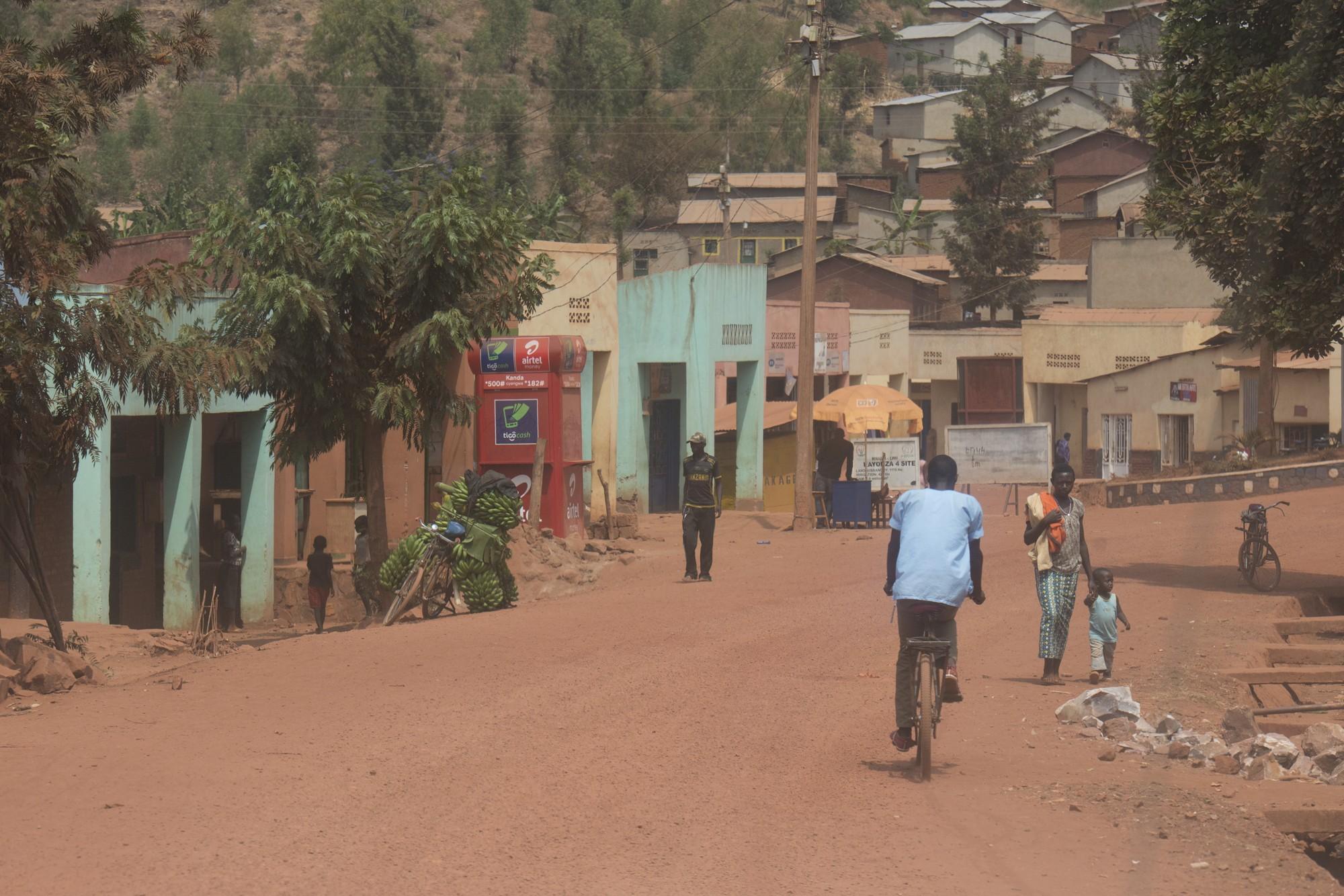 Route Kigali - Akagera