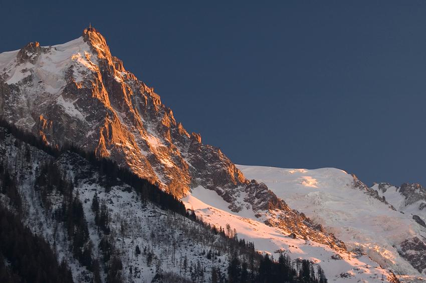 Aiguille du Midi, Chamonix, France.