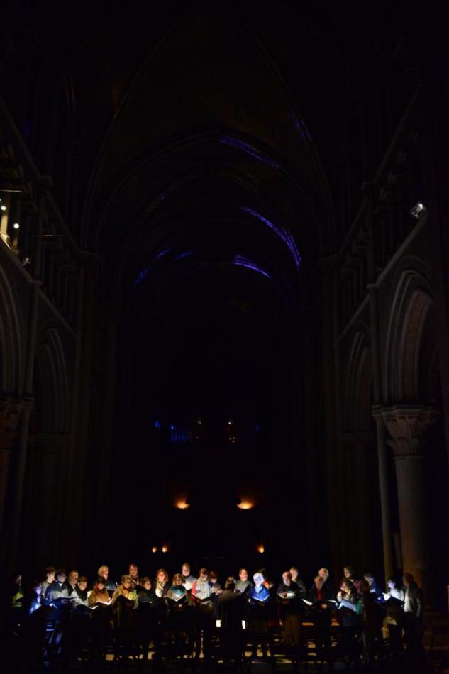 Les Vocalistes Romands, concert Cathedral de Lausanne